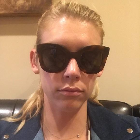 16881f18e1 Celine Accessories - Celine Sunglasses Baby Marta - Havana